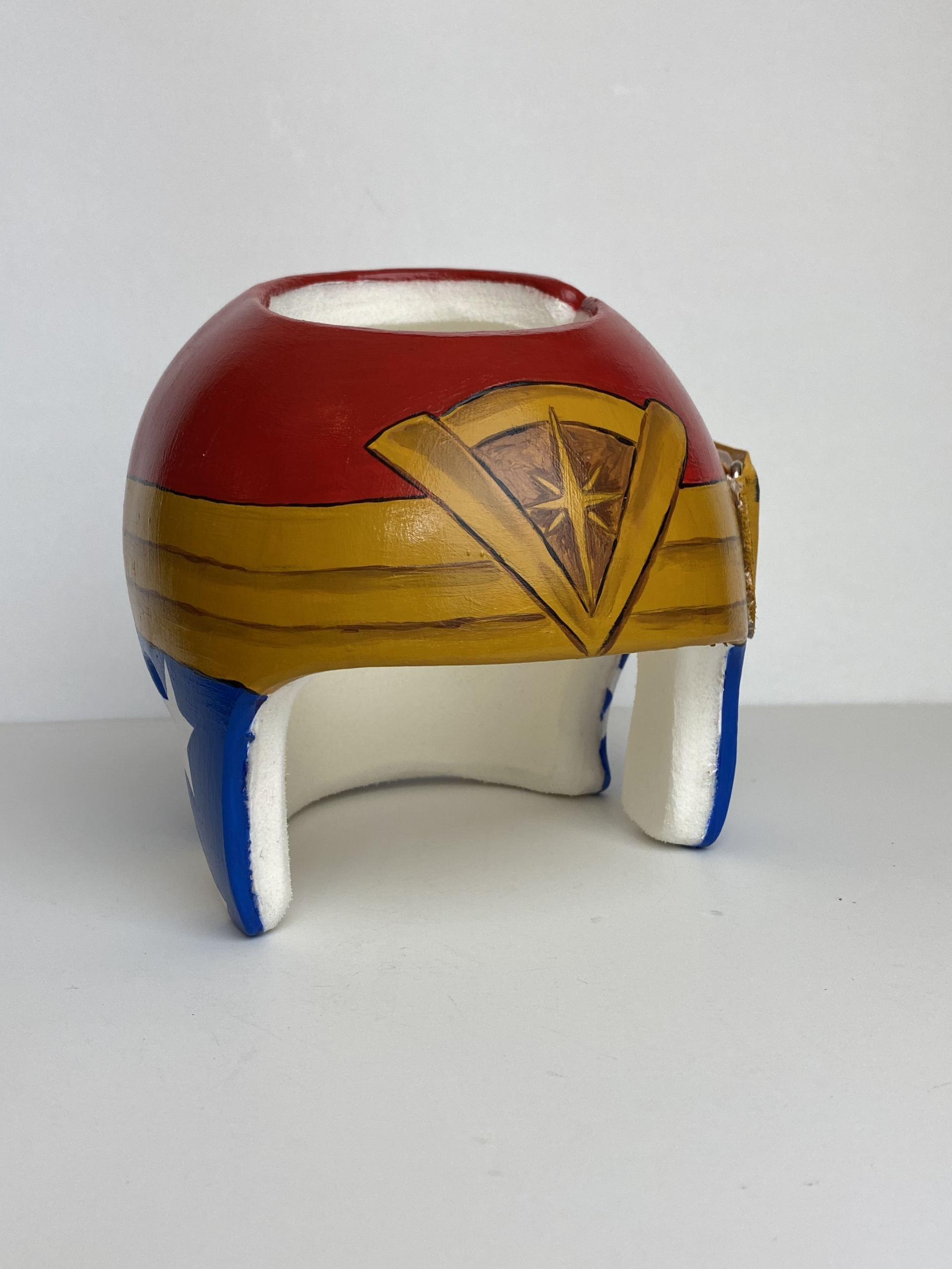Painted Cranial Helmet | Custom Painted Cranial Band | Cranial Band Artist