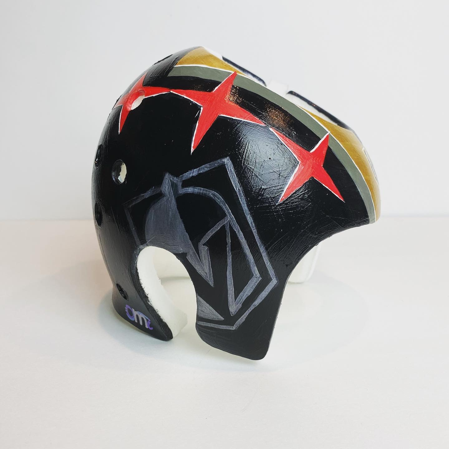 Golden Knights Vegas | Painted Cranial Helmet | Custom Painted Cranial Band | Cranial Band Artist
